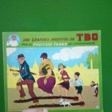 Tebeos: LOS GRANDES INVENTOS DE TBO POR EL PROFESOR FRANZ DE COPENHAGUE EDICIONES DEL COTAL 1977 CASI NUEVO. Lote 121511707
