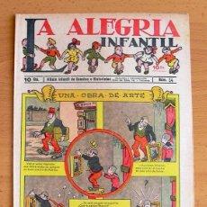Tebeos: LA ALEGRIA INFANTIL Nº 24 - EDITORIAL GATO NEGRO 1922. Lote 121578903
