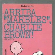 BDs: CHARLIE BROWN 32: ARRIBA MARBLES, CHARLIE BROWN, 1983, EDICIONS 62, MUY BUEN ESTADO. Lote 122221451