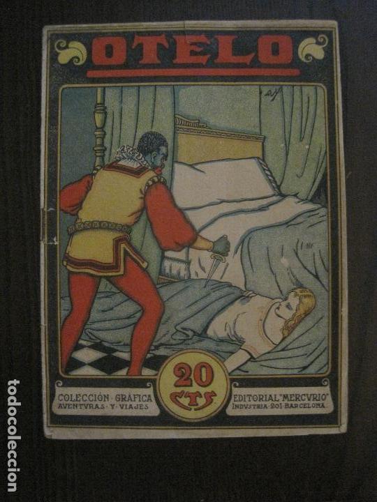 OTELO - COMIC- COLECCION GRAFICA AVENTURAS Y VIAJES - EDITORIAL MERCURIO -VER FOTOS- (V-14.627) (Tebeos y Comics - Tebeos Clásicos (Hasta 1.939))