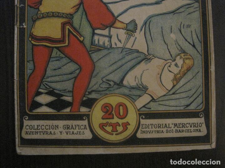 Tebeos: OTELO - COMIC- COLECCION GRAFICA AVENTURAS Y VIAJES - EDITORIAL MERCURIO -VER FOTOS- (V-14.627) - Foto 3 - 122587747