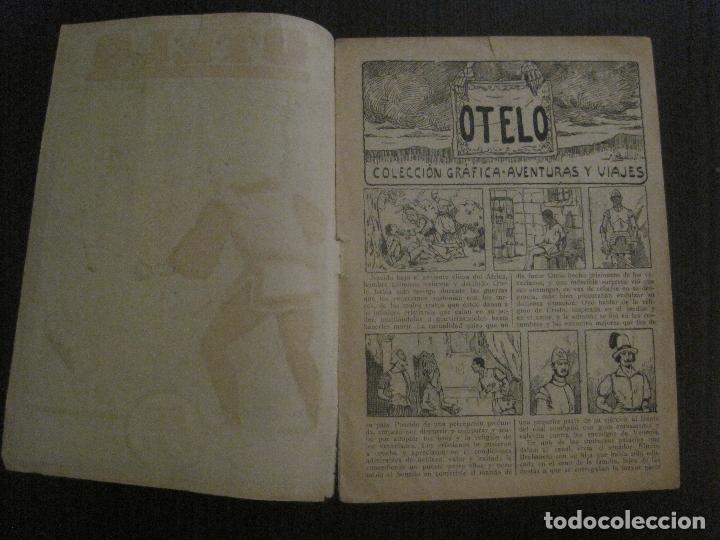 Tebeos: OTELO - COMIC- COLECCION GRAFICA AVENTURAS Y VIAJES - EDITORIAL MERCURIO -VER FOTOS- (V-14.627) - Foto 4 - 122587747