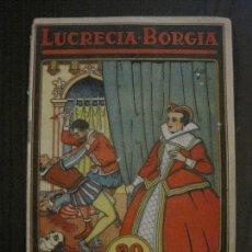 Tebeos: LUCRECIA BORGIA- COMIC- COLECCION GRAFICA AVENTURAS Y VIAJE -EDITORIAL MERCURIO-VER FOTOS-(V-14.628). Lote 122588199