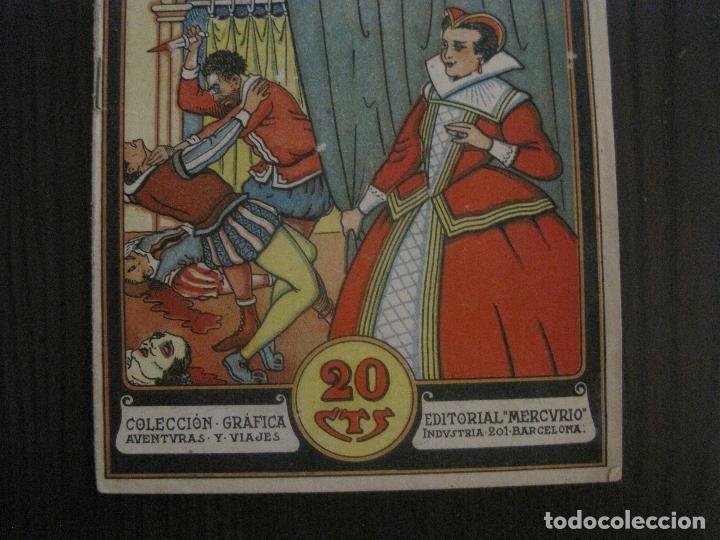 Tebeos: LUCRECIA BORGIA- COMIC- COLECCION GRAFICA AVENTURAS Y VIAJE -EDITORIAL MERCURIO-VER FOTOS-(V-14.628) - Foto 3 - 122588199
