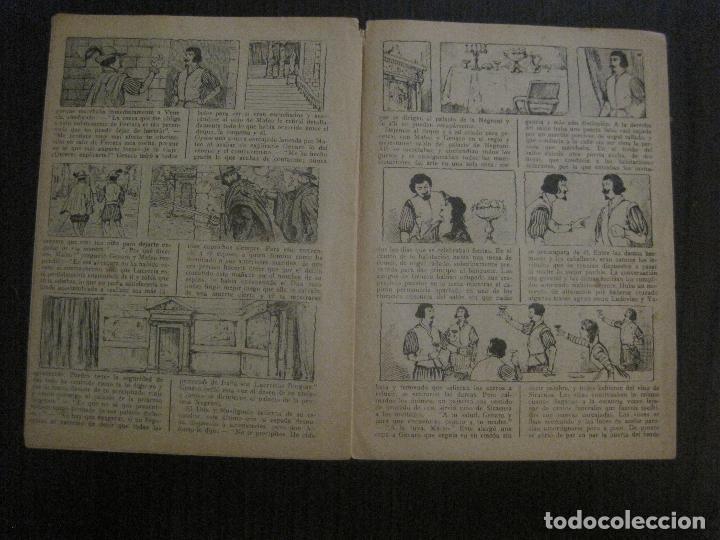 Tebeos: LUCRECIA BORGIA- COMIC- COLECCION GRAFICA AVENTURAS Y VIAJE -EDITORIAL MERCURIO-VER FOTOS-(V-14.628) - Foto 11 - 122588199