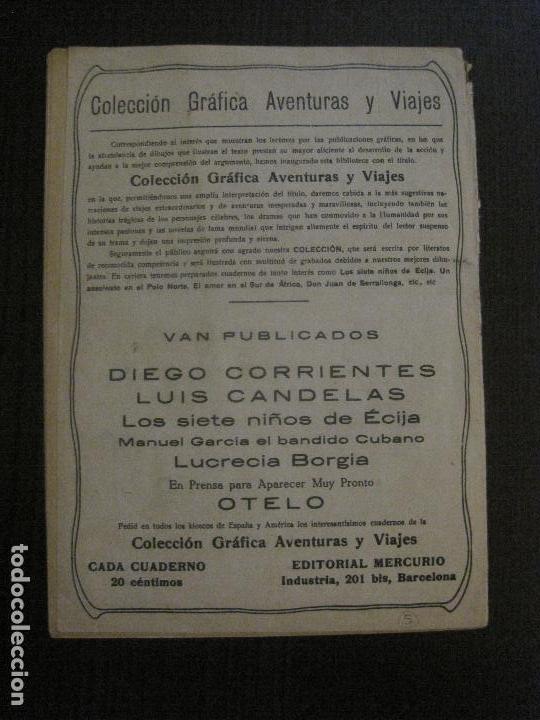 Tebeos: LUCRECIA BORGIA- COMIC- COLECCION GRAFICA AVENTURAS Y VIAJE -EDITORIAL MERCURIO-VER FOTOS-(V-14.628) - Foto 13 - 122588199