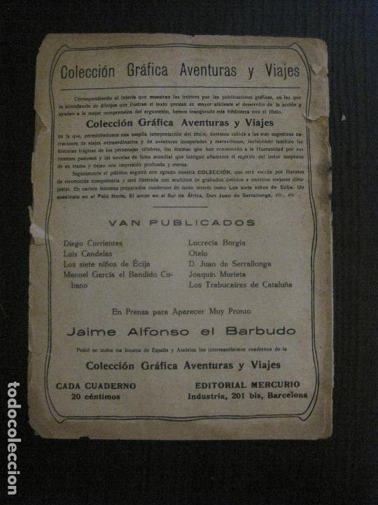 Tebeos: JAIME ALFONSO EL BARBUDO- COMIC- GRAFICA AVENTURAS Y VIAJES -EDITORIAL MERCURIO-VER FOTOS-(V-14.629) - Foto 22 - 122588411