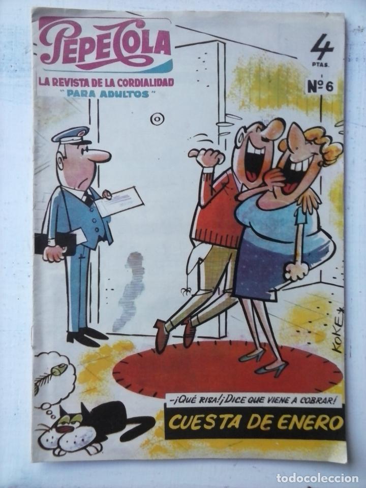PEPE COLA Nº 6 - EDITORIAL MATEU 1959 (Tebeos y Comics - Tebeos Otras Editoriales Clásicas)