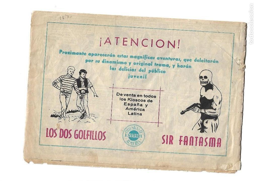Tebeos: El Rey de las Tinieblas, Nº 3. Original. Dibujante Fussy. Editorial Samara. Año 1.955. - Foto 4 - 122733760