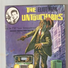 Tebeos: THE ELIOT NESS UNTOUCHABLES Nº 8 - EXTRAÑO CRIMEN - ARTFI 1967 - 8 PTS -. Lote 124465391