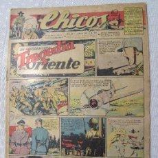 Tebeos: CHICOS , NUMERO 343 , ORIGINAL 1945, BUENA CONSERVACION EN GENERAL. Lote 124505431