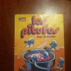 Tebeos: LOS PITUFOS SOPA DE PITUFOS PRIMERA EDICION. Lote 124511575