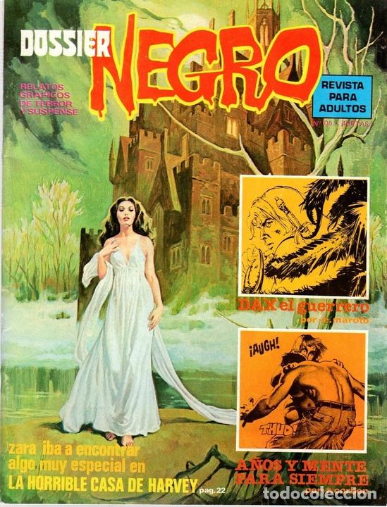 DOSSIER NEGRO. RELATOS GRAFICOS DE TERROR. Nº 105. FEBRERO 1978 (Tebeos y Comics - Tebeos Otras Editoriales Clásicas)