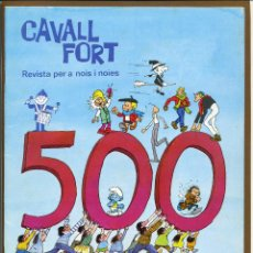 Tebeos: CAVALL FORT - Nº 500. Lote 125206959