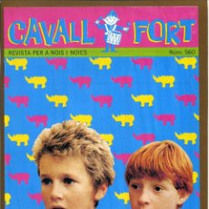 Tebeos: CAVALL FORT - Nº 560. Lote 125207079