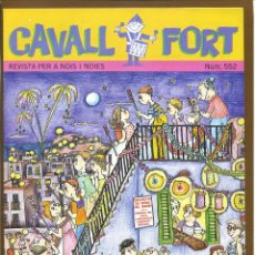Tebeos: CAVALL FORT - Nº 552. Lote 125207119