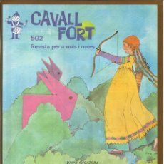 Tebeos: CAVALL FORT - Nº 502. Lote 125207259