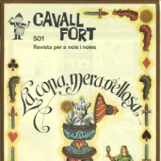 Tebeos: CAVALL FORT - Nº 501. Lote 125207279