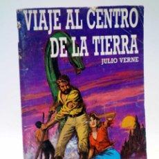 Tebeos: CLÁSICOS JUVENILES ILUSTRADOS 2. VIAJE AL CENTRO DE LA TIERRA A.Z. EDITOR, 1988. Lote 125305059