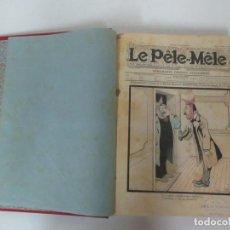 Tebeos: TEBEO - COMIC - LE PÊLE - MÊLE - 43 Nº ENCUADERNADOS -EDICIÓN EN ESPAÑOL - MUY BUEN ESTADO-1903-1904. Lote 125308767
