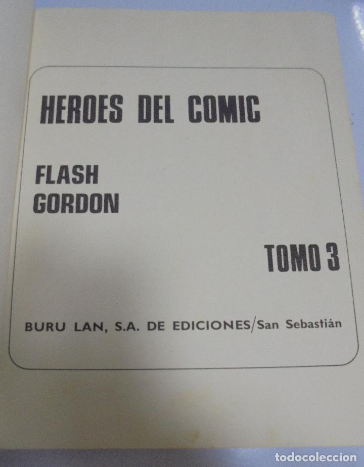 Tebeos: FLASH GORDON. Nº 3 DE HEROES DEL COMIC. KANG EL CRUEL. 1972. BURU LAN EDICIONES - Foto 9 - 126528191