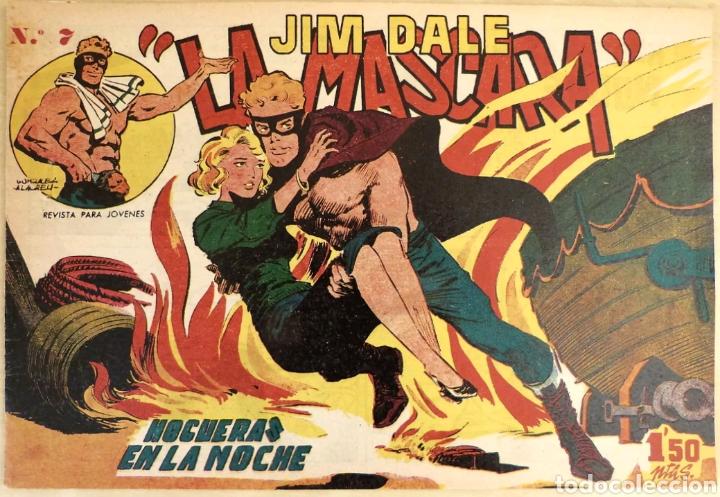 TEBEO N°7 JIM DALE LA MASCARA 1961 (Tebeos y Comics - Tebeos Otras Editoriales Clásicas)