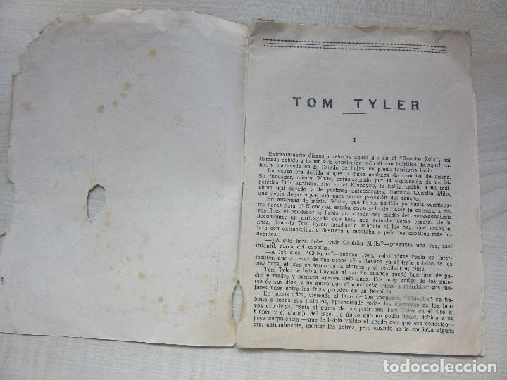 Tebeos: Raro librito de las aventuras de Tom Tyler, el rey de los Cow-boys edita El Gato Negro Años 30 - Foto 2 - 126706343