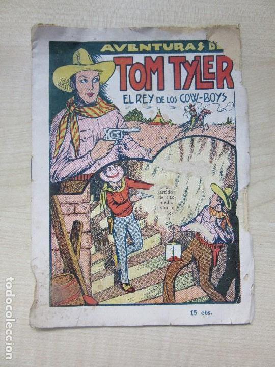 RARO LIBRITO DE LAS AVENTURAS DE TOM TYLER, EL REY DE LOS COW-BOYS EDITA EL GATO NEGRO AÑOS 30 (Tebeos y Comics - Tebeos Otras Editoriales Clásicas)