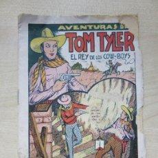 Tebeos: RARO LIBRITO DE LAS AVENTURAS DE TOM TYLER, EL REY DE LOS COW-BOYS EDITA EL GATO NEGRO AÑOS 30. Lote 126706343