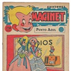 Tebeos: MAGINET PUNTO AZUL- EXCELENTE ESTADO- LEER. Lote 126785563