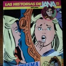 Tebeos: 3 COMICS HISTORIAS DE JANA 5 SUPER 4 ALBUM 4 SARPE 1984 NUEVO. Lote 126943235