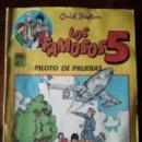 Tebeos: LOS FAMOSOS CINCO Nº 3-4-6 MC ENID BLYTON 1987 FORMATO GRANDE. Lote 126944119