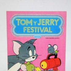 Tebeos: CÓMIC DE TAPA BLANDA - TOM Y JERRY FESTIVAL Nº 44 - EDICIONES RECREATIVAS - AÑO 1981. Lote 127072763