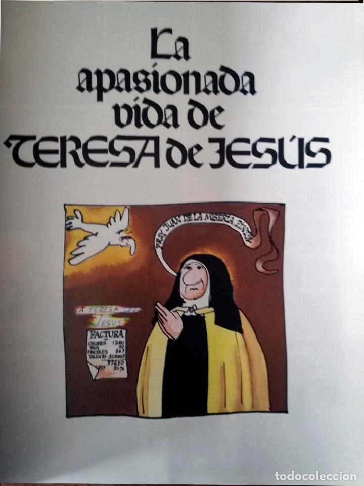LA APASIONADA VIDA DE TERESA DE JESUS-CLAIRE BRETECHER-AMAIKA NUEVO 1984 (Tebeos y Comics - Tebeos Otras Editoriales Clásicas)