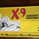 Tebeos: X–9 AGENTE SECRETO Nº 3-IMPALA AÑO 1987-NUEVO . Lote 127122267