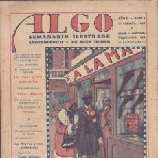 Tebeos: LOTE DE 38 REVISTAS SEMANARIO ILUSTRADO ENCICLOPEDICO Y DE BUEN HUMOR 1929. Lote 127131555