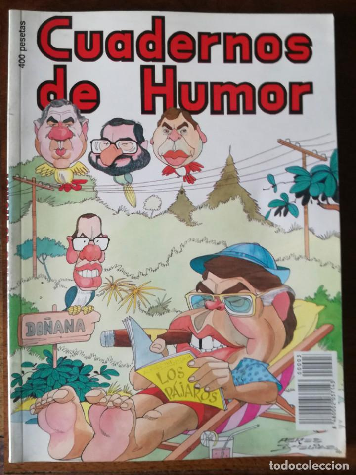 MAS DE 90 PÁGINAS CUADERNOS DE HUMOR NÚM 3 CON LOS MEJORES HUMORISTAS 1990 NUEVO (Tebeos y Comics - Tebeos Otras Editoriales Clásicas)
