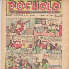 Tebeos: POCHOLO Nº 209. S. VIVES 1930.. Lote 127237798