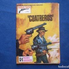 Tebeos: SALVAJE TAMPA Nº 120 CUATREROS - PRODUCCIONES EDITORIALES 1973. Lote 127620699