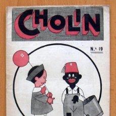 Tebeos: CHOLIN Nº 19 - EDITORIAL MIGUEL ALBERO 1928. Lote 127626203
