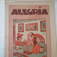 Tebeos: ALEGRÍA Nº 364 - 1931 - HOJAS SIN ABRIR. Lote 127678851