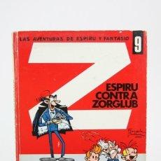 Tebeos: CÓMIC DE TAPA DURA - LAS AVENTURAS DE ESPIRU Y FANTASIO Nº 9 ESPIRU CONTRA ZORGLUB- EDI JAIMES, 1970. Lote 127924064