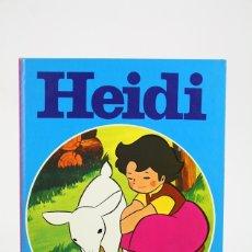 Tebeos: CÓMIC DE TAPA DURA - HEIDI / COLECCIÓN EDICLAS TURQUESA - EDIT. LAIDA / FHER - AÑO 1975. Lote 127924239