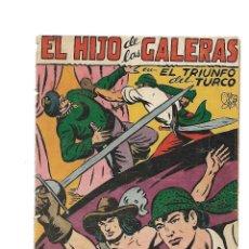 Tebeos: EL HIJO DE LAS GALERAS, AÑO 1.950. Nº 9. ES ORIGINAL DIBUJANTE M. GAGO. EDITORIAL GARGA.. Lote 128562135