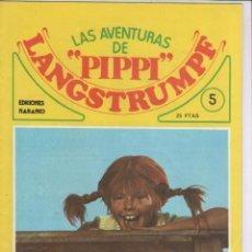 Tebeos: LAS AVENTURAS DE PIPPI LANGSTRUMPF-EDICIONES NARANKO-AÑO 1975-COLOR-GRAPA-Nº 5-PIPPI VA DE EXCURSION. Lote 218558485