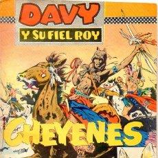 Tebeos: DAVY Y SU FIEL ROY Nº 294 - CHEYENES (OLIVÉ Y HONTORIA). Lote 129257179
