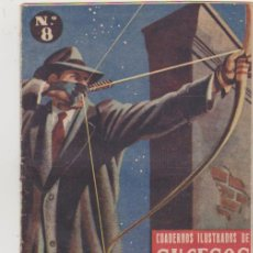 Tebeos: CUADERNOS ILUSTRADOS DE SUCESOS Nº 8. SAE 1953.. Lote 129513180