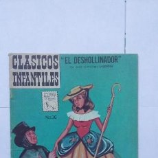 Tebeos: CLÁSICOS INFANTILES N° 36 - ORIGINAL EDITORIAL LA PRENSA - MÉXICO. Lote 130070859