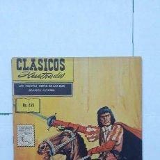 Tebeos: CLÁSICOS ILUSTRADOS N° 139 - LOS BANDOLEROS - ORIGINAL EDITORIAL LA PRENSA - MÉXICO. Lote 130071015