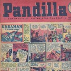 Tebeos: LA PANDILLA Nº 87. BUENOS AIRES 1946. Lote 130415458